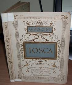 Tosca. Piano Reduction with Vocal Line.: PUCCINI Giacomo. CARIGNANI Carlo.