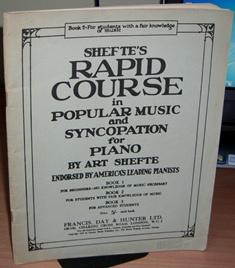 Shefte's Rapid Course in Popular Music and: SHEFTE Art.