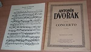 Concerto Op. 104 arranged for Cello and Piano. 2 parts complete.: DVORAK Antonin.