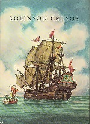 ROBINSON CRUSOE. Nouvelle adaptation de Peter Rinderknecht.