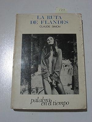 LA RUTA DE FLANDES: Claude Simon