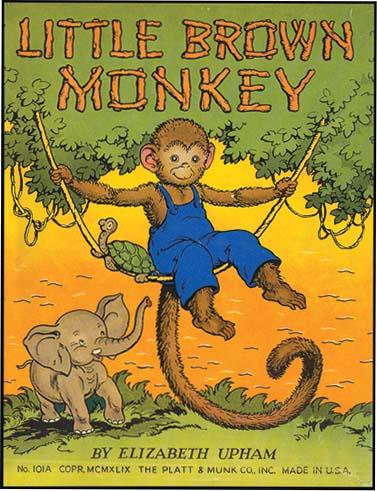 LITTLE BROWN MONKEY UPHAM Hardcover