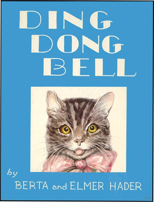 DING DONG BELL HADER, BERTA AND ELMER Hardcover