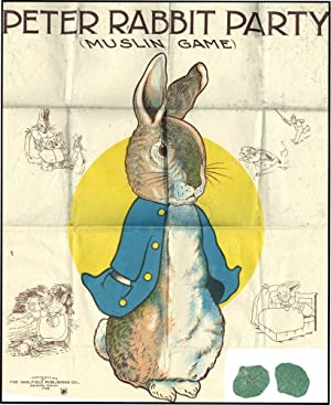 PETER RABBIT PARTY MUSLIN GAME