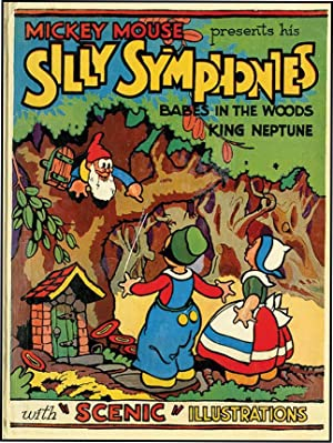 POP-UP SILLY SYMPHONIES CONTAINING BABES IN THE: DISNEY, WALT