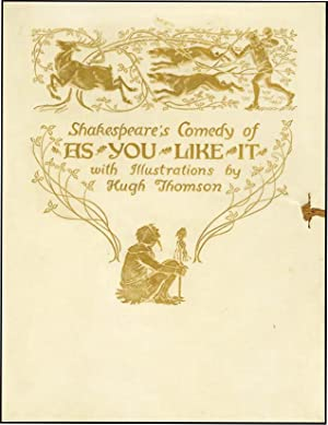 AS YOU LIKE IT: SHAKESPEARE,WILLIAM