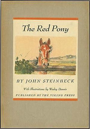 RED PONY: STEINBECK,JOHN