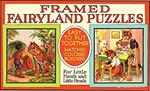 FRAMED FAIRYLAND PUZZLES INCLUDING SAMBO, PETER RABBIT: BANNERMAN, HELEN