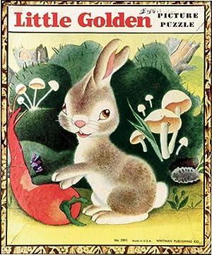 LIVELY LITTLE RABBIT: LITTLE GOLDEN PICTURE PUZZLE: TENGGREN, GUSTAF
