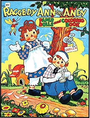 RAGGEDY ANN AND ANDY PAPER DOLLS AND: GRUELLE,JOHNNY