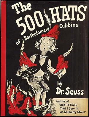 500 HATS OF BARTHOLOMEW CUBBINS: SEUSS,DR.