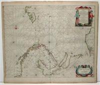 Pascaart vande Zee-Custen: Janssonius, Joannes