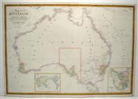 Map of Australia Compiled from the Nautical Surveys made by Order of the Admiralty and other ...