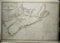 North America - East coast Nova Scotia, Prince Edward I. And part of New Brunswick: Wharton