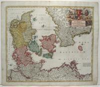 Regni Daniae in quo sunt Sucatus Holsatia et Slesvicum Insulae Daniae, Provinciae Iutia Cania ...