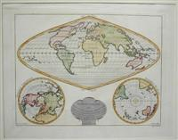 Mappe-Monde ou Nouvelle Carte Generale: Delamarche, Charles Francois
