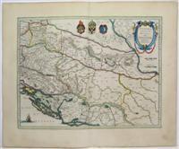 Sclavonia, Croatia, Bosnia cum Dalmatiae Parte: Mercator, Gerard; Blaeu