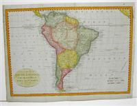 An accurate Map of South America, from the best Modern Maps and Charts. By Tho.s Bowen Geog.r: ...