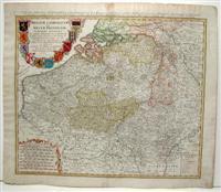 Carte des Pais Bas Catholiqves ou des X Provinces de l'Allemagne Inferieure etc./ Belgivm...