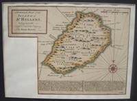 A Correct Map of the Island of St. Hellena, belonging to the English East Infia Company: Bowen, ...