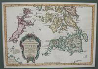 Carte des Isles Philippines Dressee sur la Carte Espagnole du R. P. Murillo de Velarde 2e. Feuille ...