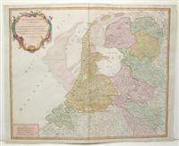 Les Provinces-Unies des Pays-Bas, qui Comprennent Le Duche de Gueldre, Les Comtes de Hollande, De ...