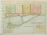 Plan of York Harbour Surveyed by Orer of Liut. Govr. Simcoe: Aitken, A