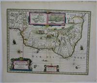 Accuratissima Brasiliae Tabula.: Hondius, Henricus