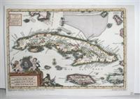 Cuba en Iamaica, Soo als die door Kolumbus Ontdekt, en by de Kastilianen becolke syn.: Van der Aa, ...