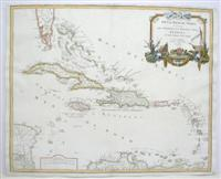 Partie de la Mer du Nord, ou se trouvent les Grandes et Petites Isles Antilles, et les Isles ...