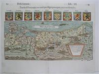Tauola di Pomerania con tutti i piu degni prencipati, citta terre & rocche.: Munster, Sebastian