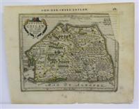 Insula Ceilan quae incolis Te narisin dicitur: Joannis Janssonius