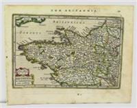 Britannia Et Normannia cum confinijs: Joannis Janssonius