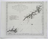 Kaart van een gedeelt van de Kust: James Cook