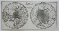Carte des Deus Regions Polaires: James Cook