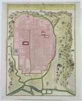 Platte Grondt van de Stad Miaco.: Engelbert Kaempfer; Johann Caspar Scheuchzer