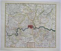 Les Environs de Londres: J. Covens; C Mortier