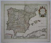 Nova Regni Hispaniae Accurata Descripto ad Usum Serenissimi Burgundiae Ducis: De L'Isle