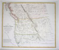Map of the United States Territory of Oregon: M.H. Stansbury