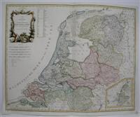 Karte von des Republik der Vereinigten Niederlande.: Reilly