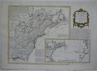Carte Nouvelle des Possessions Angloises en Amerique.: Thomas Jefferys; Moithey