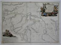 Plan De la Battaille de Chotusitz dans le Cerele de Czaslau en Boheme.: B. Strahowsky