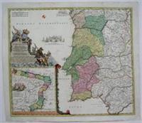 Portugalliae et Algarbiae: Homann