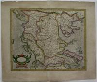 Macedonia Epirus et Achaia: Mercator; Hondius