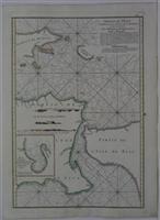 Nouveau Plan des Detroits, situes a l'Est de Java et de Madura.: Apres de Mannevillette