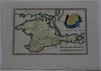 Spezial Karte von dem Konigreiche Taurien Oder der Halbinsel Krim: Reilly