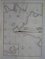 Carte du Detroit de la Sonde depuis la Pointe de Winerou jusqu'a l'Isle du Nord: Apres de...