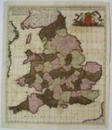 Anglia Regnum in Omnes Suos Ducatus, Comitatus, et Provincias Divisum.: F. de Wit