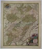 Comitatus Burgundiae tam in Praecipuas Ejus Prafecturas. . .: Visscher