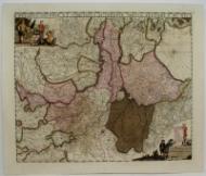 Ducatus Geldriae, et Comitatus Zutphaniae, Tabula: de Wit